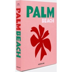 Assouline Books And City Guides - 'Palm Beach' in Pink Paper