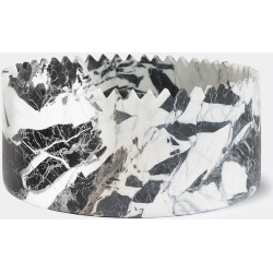 Editions Serving And Trays - 'Triangoli' tray, tall, black in Black/White Marble found on Bargain Bro from wallpaper for £632