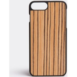 Wood'd Amsterdam Pop Up - Zebrawood iPhone 7 plus/8 plus cover in Zebrawood Wood, polycarbonate found on Bargain Bro UK from wallpaper