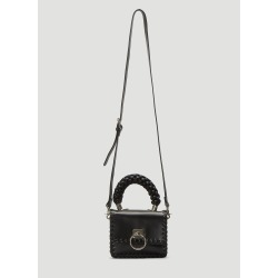 Oberkampf Small Braided Handle Bag in Black size One Size found on Bargain Bro UK from LN-CC (UK)
