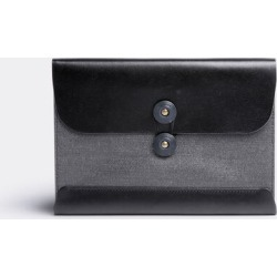 Postalco Bags and Accessories - Postcard wallet in Black Cotton, Cowhide Trim found on Bargain Bro UK from wallpaper