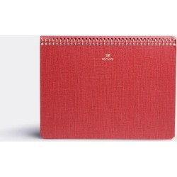 Postalco Notebooks - A5 notebook in Singal red Paper found on Bargain Bro UK from wallpaper
