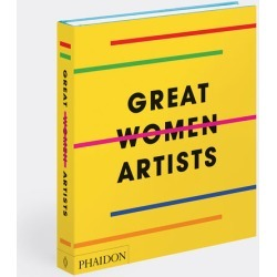 Phaidon Books And City Guides - 'Great Women Artists' in yellow Paper
