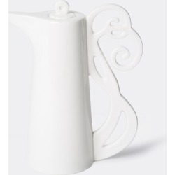 L'Abitare Kitchen And Tools - Oil bottle 'n. 1' in White Porcelain