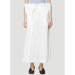 Issey Miyake Fold Pleat Pants in White size 2 found on MODAPINS from LN-CC (US) for USD $388.00