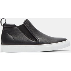 Aiezen Men's High-Top Slip-On Grained Leather Sneakers in Black size EU - 42 found on MODAPINS from LN-CC (UK) for USD $259.52
