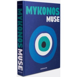 Assouline Books And City Guides - 'Mykonos Muse' in Blue Paper