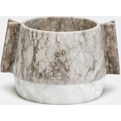 Editions Serving And Trays - 'Versi' ice bucket in Peach Flower/White Marble found on Bargain Bro from wallpaper for £727
