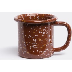 Hay Tea And Coffee - Enamel mug in Sprinkle, brown ENAMELLED STEEL