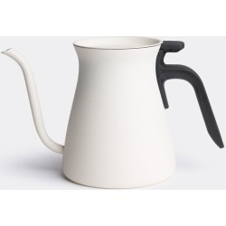 Kinto Tea And Coffee - 'Pour Over' kettle in White Stainless steel, plastic