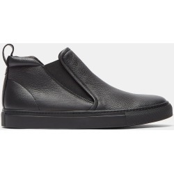 Aiezen Men's High-Top Slip-On Grained Leather Sneakers in Black size EU - 43 found on MODAPINS from LN-CC (UK) for USD $248.47