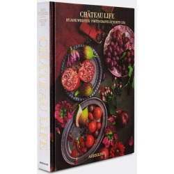 Assouline Books And City Guides - 'Chateau Life' in Multicolour Paper