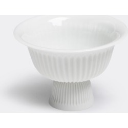 Lyngby Porcelæn Tea And Coffee - 'Tsé' teacup with foot in Unglazed white Porcelain