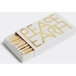 Vitra Kitchen And Tools - 'Peace on Earth' matchboxes in Gold, white Wood, Paper