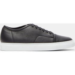 Aiezen Men's Low-Top Grained Leather Sneakers in Black size EU - 45 found on MODAPINS from LN-CC (UK) for USD $225.59