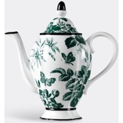 Gucci Tea And Coffee - 'Herbarium' coffee pot in Emerald Porcelain