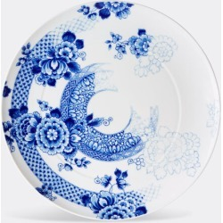 Vista Alegre Tableware - 'Blue Ming' serving plate in blue, white porcelain found on Bargain Bro from wallpaper for £93