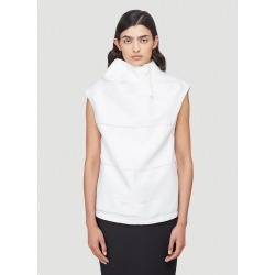 female White 100% Polyester. Dry clean. found on Bargain Bro UK from LN-CC (UK)