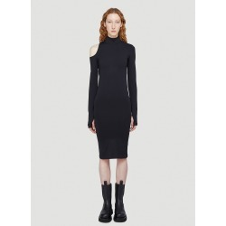 Helmut Lang Cut-Out Dress in Black size XS - S found on MODAPINS from LN-CC (UK) for USD $242.11