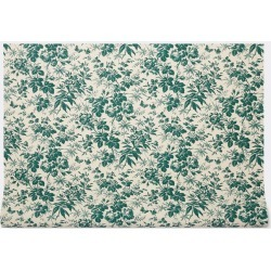 Gucci Textile and Rugs - 'Herbarium' wallpaper, green in Green, ivory Wallpaper