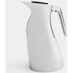 Georg Jensen Tea And Coffee - 'Beak' thermo jug in Stainless steel Stainless Steel, ABS Plastic