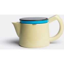 Hay Tea And Coffee - Coffee pot, small in Light yellow Porcelain, Stainless steel and