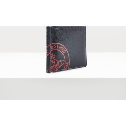 Kent Man Wallet With Coin Pocket Black/Red found on MODAPINS from Vivienne Westwood for USD $178.39