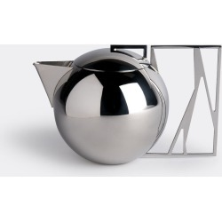 Riva Tea And Coffee - 'Trama' tea pot in Stainless steel Stainless Steel 18/10