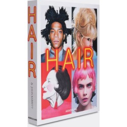 Assouline Books And City Guides - 'Hair' in multicolor Paper