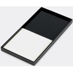 Serax Serving And Trays - Tray, S, black and white in Black, white Wood