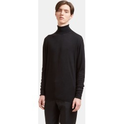 Aiezen Silk and Cashmere-Blend Fine-Knit Turtleneck Sweater in Black found on MODAPINS from LN-CC (UK) for USD $212.85