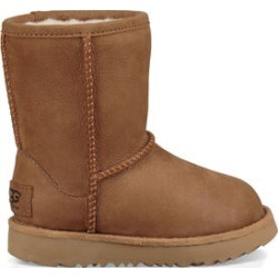 UGG Toddlers' Classic II Weather Short Leather In Chestnut, Size 9