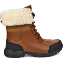 UGG Men's Butte Waterproof Leather Snow Boots In Worchester, Size 7 Vibram Outsole