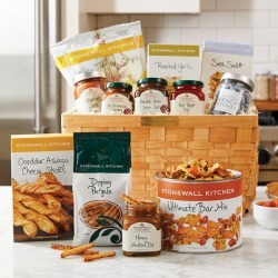 Ultimate Snack Gift Basket found on Bargain Bro India from Stonewall Kitchen for $99.99