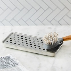 Stonewall Kitchen Stainless Steel Sink Tray found on Bargain Bro from Stonewall Kitchen for USD $6.80