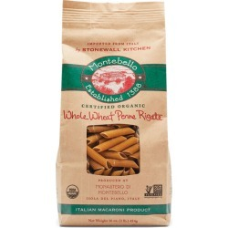 Montebello Whole Wheat Penne Rigate found on Bargain Bro from Stonewall Kitchen for USD $3.00