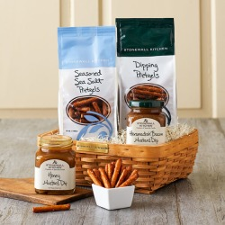 Pretzel and Dip Gift Basket found on Bargain Bro Philippines from Stonewall Kitchen for $27.95