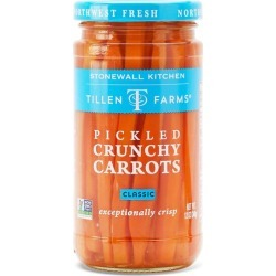 Tillen Farms Pickled Crunchy Carrots found on Bargain Bro from Stonewall Kitchen for USD $6.04