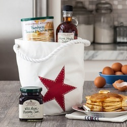 Sea Bags® Bucket Bag Breakfast Gift (Red Star)