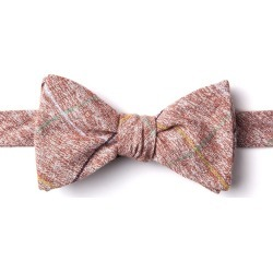Globe Self-Tie Bow Tie by Ties.com -  Red Cotton found on MODAPINS from Ties.com for USD $25.00