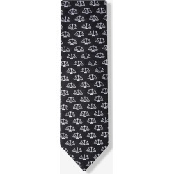 Scales of Justice Black Tie by Wild Ties -  Black Microfiber found on Bargain Bro India from Ties.com for $25.00