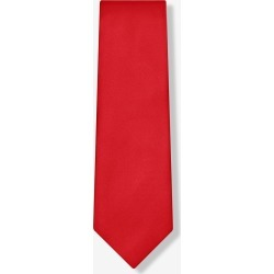 Christmas Red Tie by Elite Solid -  Christmas red Silk