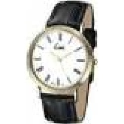 Limit Men's Quartz Watch with White Dial Analogue Display and Black PU Strap 5552.01