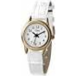 Limit Women's Quartz Watch with White Dial Analogue Display and White PU Strap 6981.35