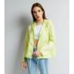 New Look Yellow Hooded Fold Away Anorak (Sizes: 6, 8, 10, 12, 14, 16, 18)