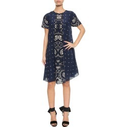 RED Valentino Bandana Print Short Dress found on Bargain Bro India from italist.com us for $287.00