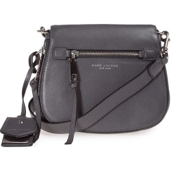 Marc Jacobs Recruit Small Saddle Leather Cross-body Bag