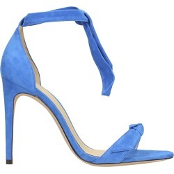 Alexandre Birman Blue Suede Sandals