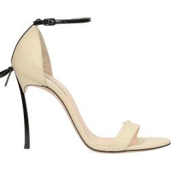 Casadei Beige Bow Sandals