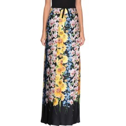 Gucci - Gucci Florage Satin Pleated Skirt - MULTICOLOR, Women's Skirts | Italist